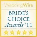 WeddingWire Wedding Awards 2011 Winner