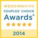 WeddingWire Wedding Awards 2014 Winner